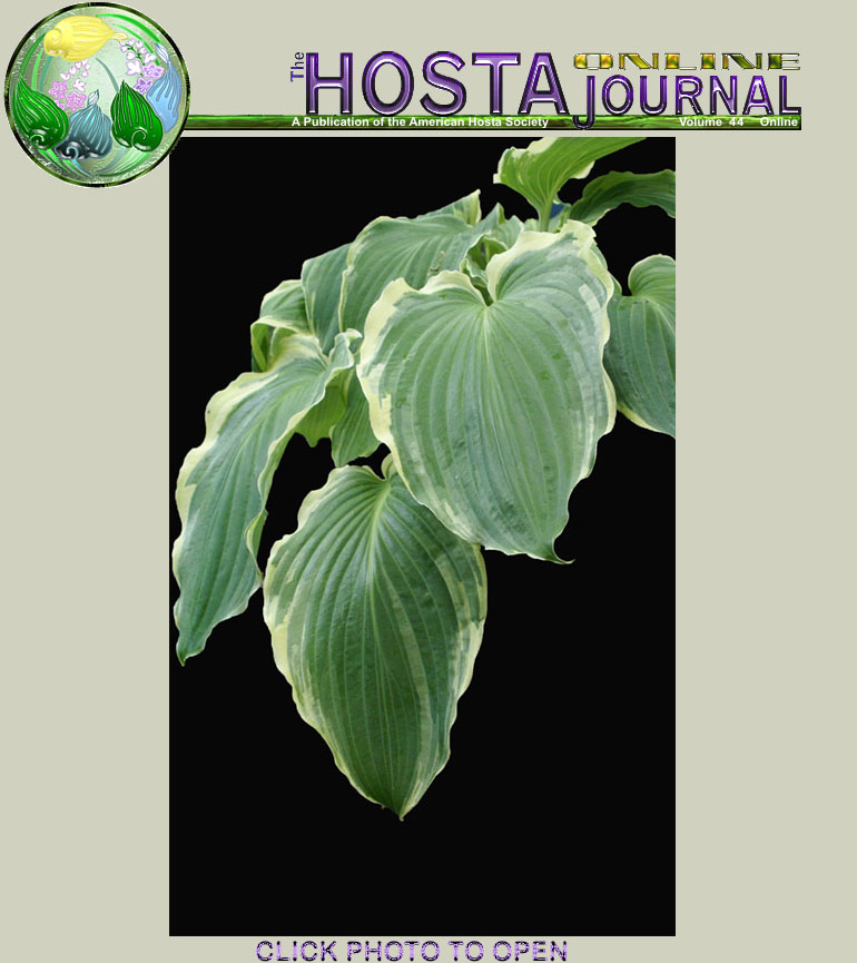 The Hosta Online Journal Contents